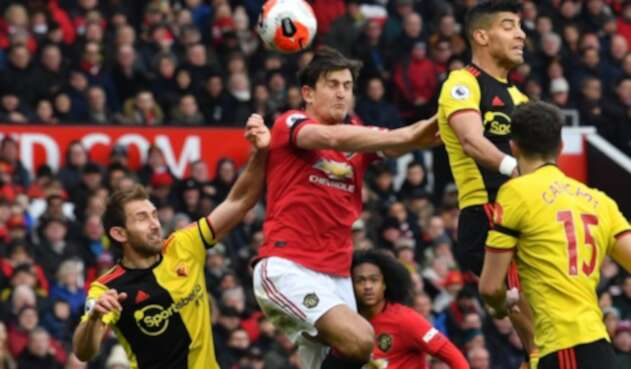 Manchester United venció al Watford