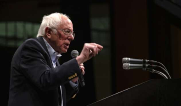 Bernie Sanders, aspirante demócrata a la presidencia de EE.UU.