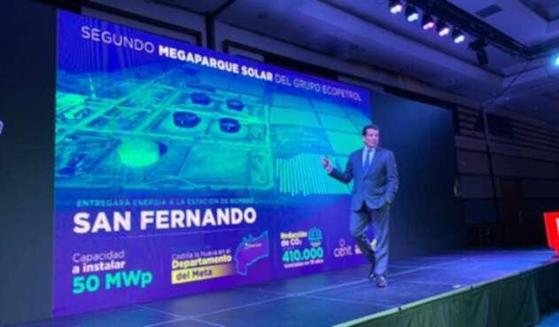 Presentación del proyecto del nuevo parque solar de Ecopetrol