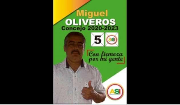 Concejal Miguel Oliveros, atentado Meta