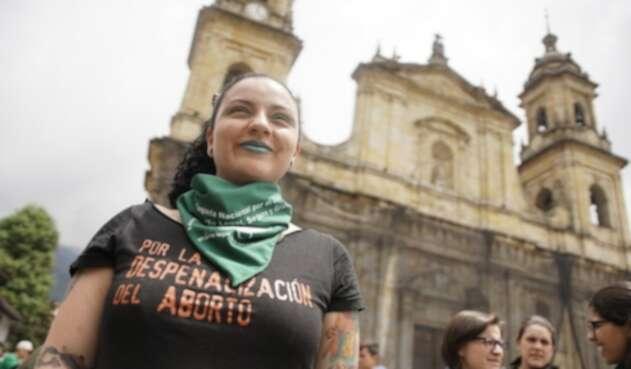 Movilizaciones a favor del aborto en Colombia