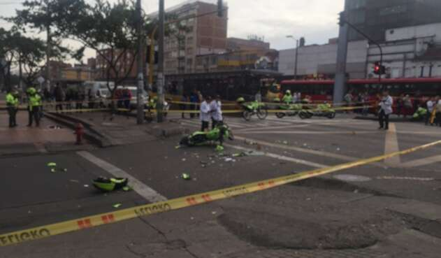 Accidente de tránsito en Marly