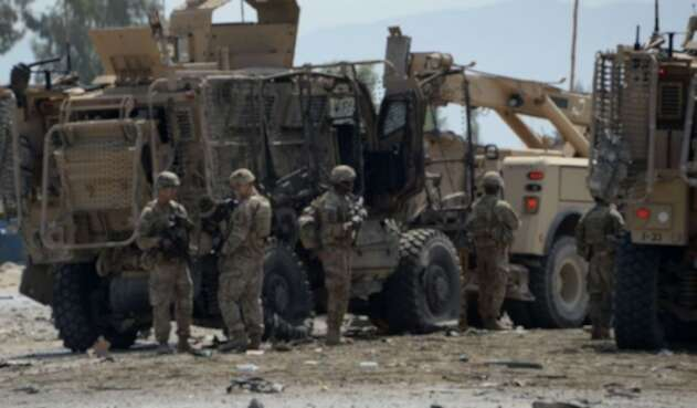 Tropas en Afganistán