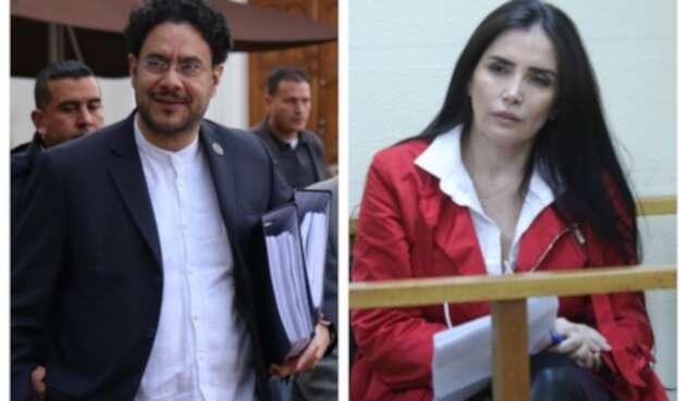 Iván Cepeda y Aida Merlano