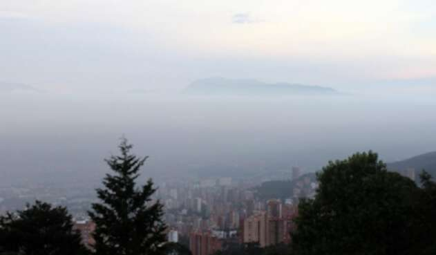 Mala calidad del aire en Medellín