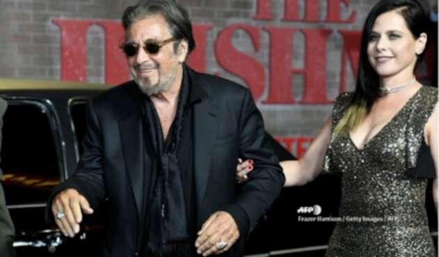 Al Pacino y su exnovia Meital Dohan