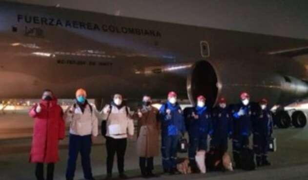 Avión de la FAC que repatriará a colombianos de Wuhan