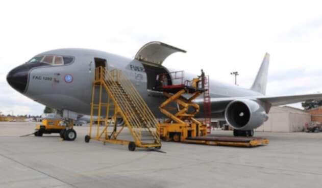 Avión de la Fuerza Aérea