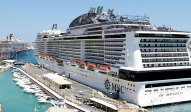 """crucero turístico """"MSC Meraviglia"""""""
