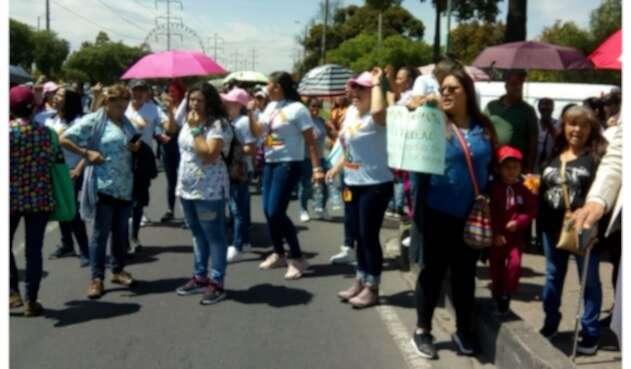 Protestas en ICBF