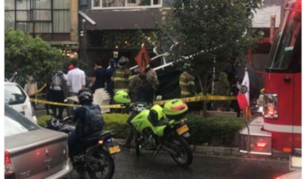 Colapso de techo en Park Way