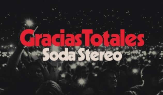 Soda Stereo 'Gracias totales'