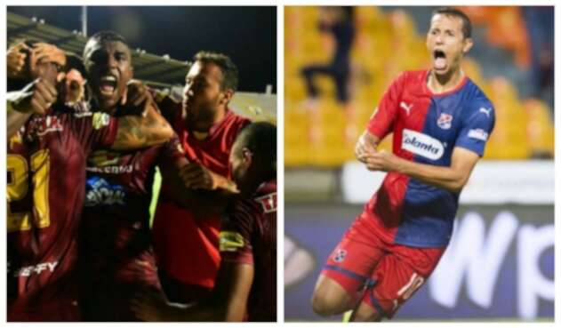 Tolima y Medellín - Copa Libertadores