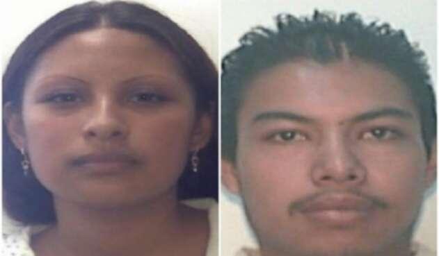 Gladis Giovana Cruz Hernández y Mario Alberto Reyes Nájera