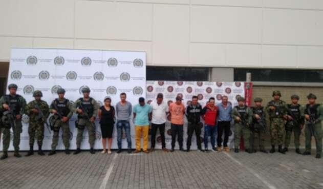 Desarticulación GAOR que delinquía en Tolima.