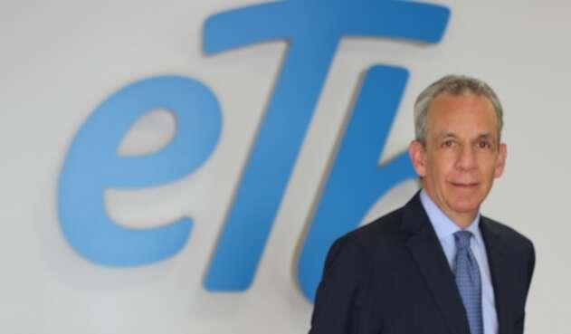 Jorge Castellanos, presidente de la ETB