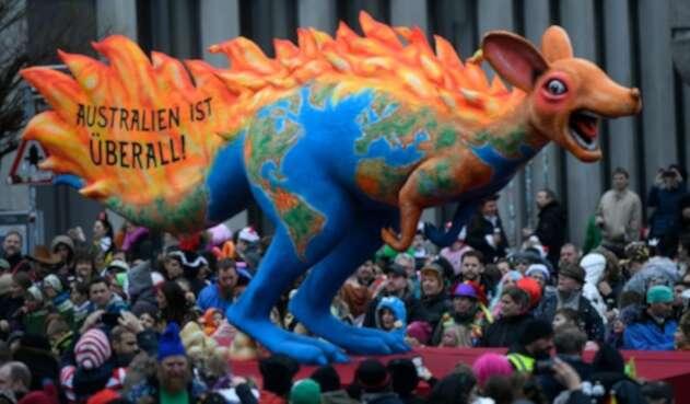 Desfile en Alemania