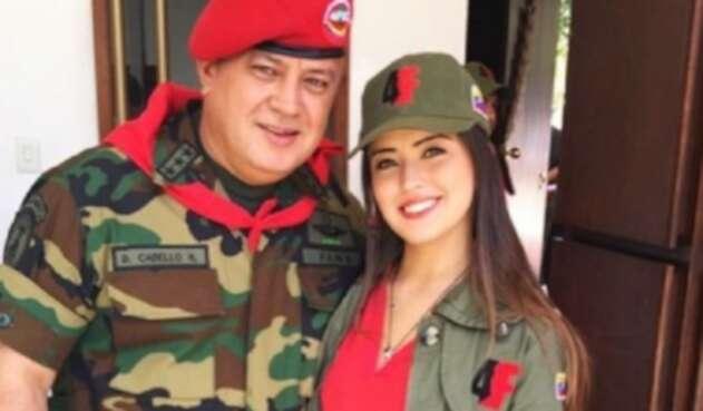 Diosdado y Daniela Cabello