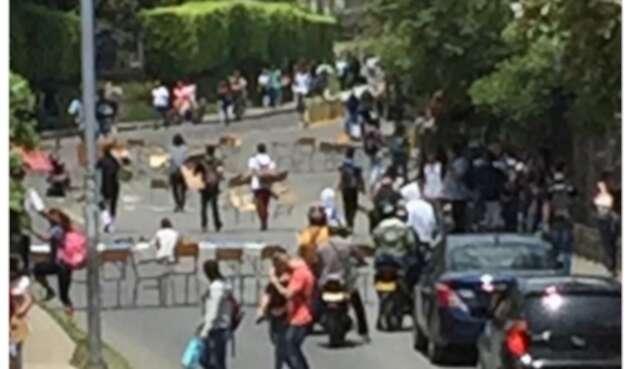 Disturbios Universidad Tecnológica de Pereira