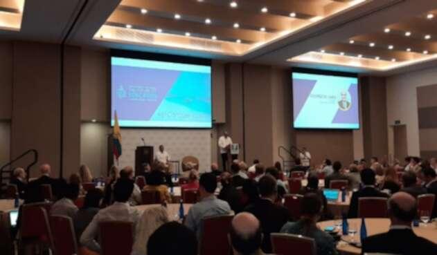 El Jefe de Estado asistió a la conferencia global 'Explorando el futuro de la Educacion' que se celebró en Cartagena