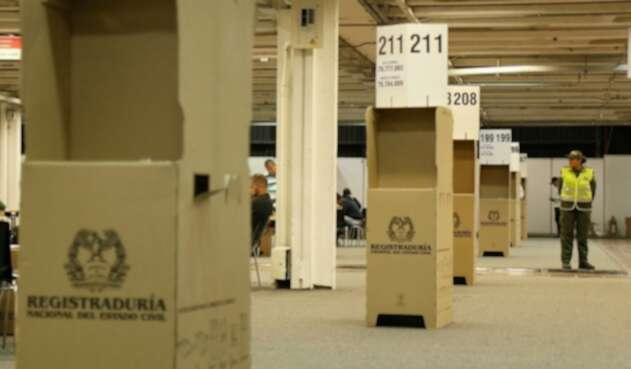 Elecciones realizadas en Corferias
