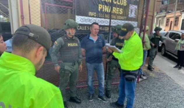 Detención de Carlos Alberto Salazar