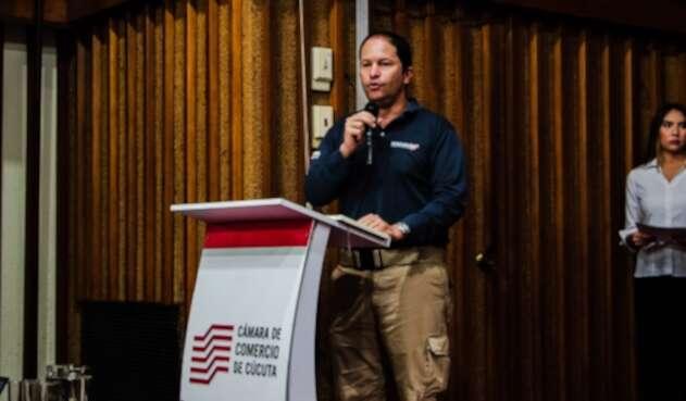 Juan Francisco Espinosa, director de Migración Colombia