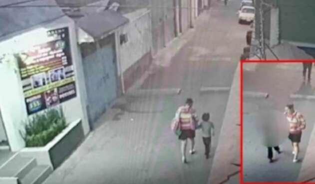 Menor fue secuestrada por una mujer en México
