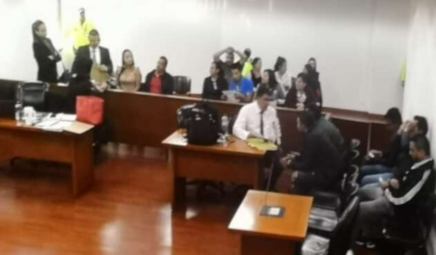 Audiencia implicados en laboratorio de coca en Guasca