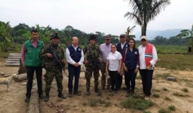 Liberación de soldado en La Macarena