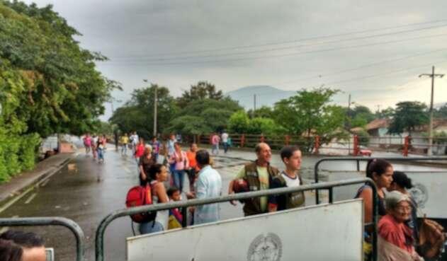 Frontera entre Colombia y Venezuela