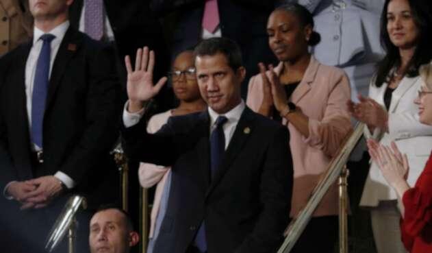 Juan Guaidó en el Congreso de EE.UU.