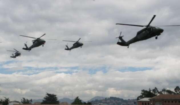 Helicópteros Black Hawk