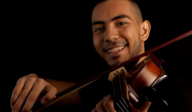 Sebastián Cruz, violinista