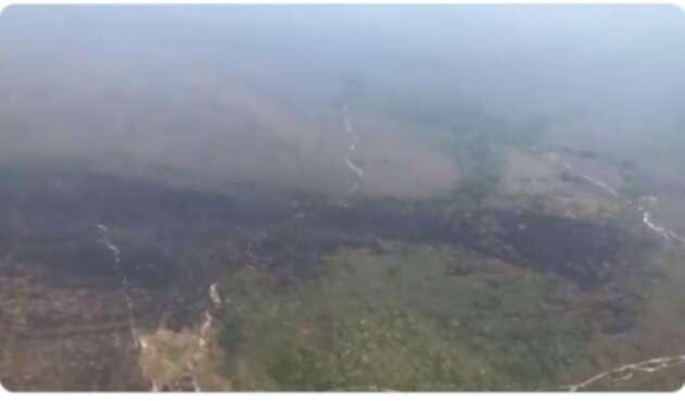 Incendio en La Macarena