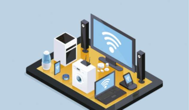 El internet de las cosas conecta a los electrodomésticos.