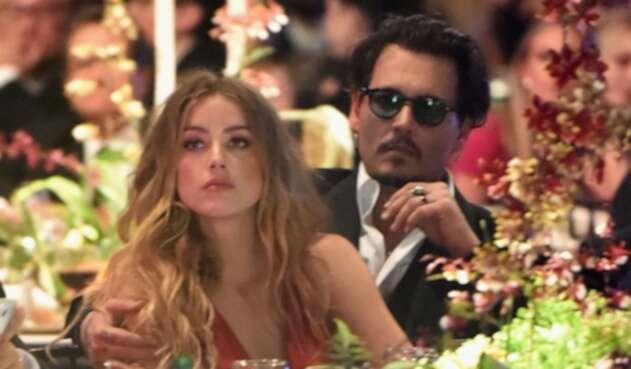 Johnny Depp yAmber Heard se casaron en 2015