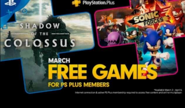 Juegos gratis para la PS+