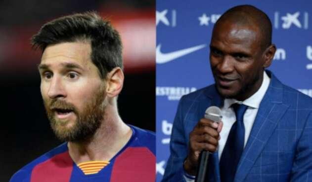 Lionel Messi - Eric Abidal