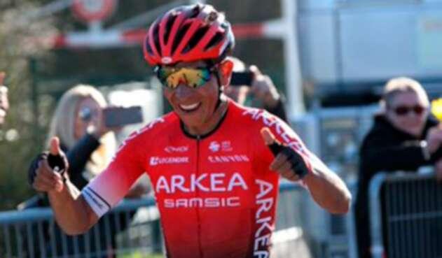 Nairo Quintana, campeón en el Tour de los Alpes Suizos