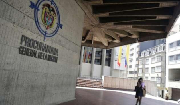 Fachada de la Procuraduría General de la Nación
