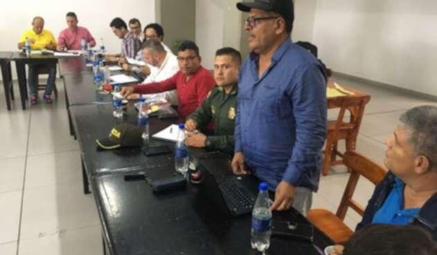 Reunión de líderes de las Farc en Ituango con el Gobierno Nacional