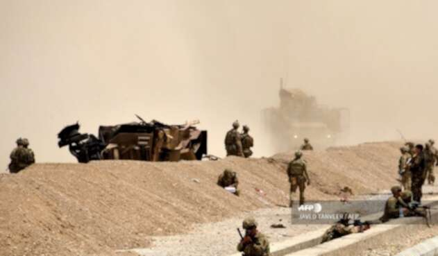 Soldados en aAfganistán