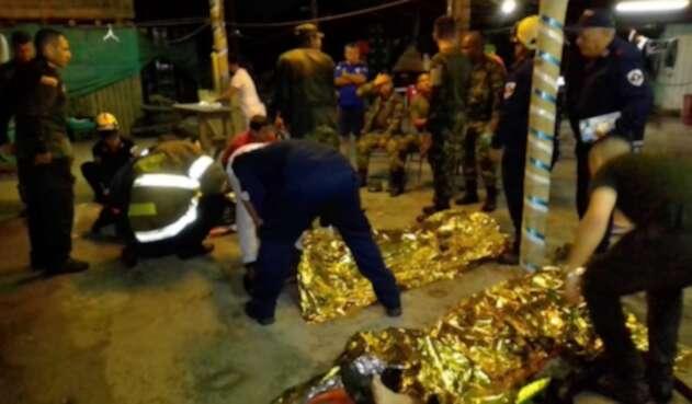 Soldados afectados por tormenta eléctrica en Villeta