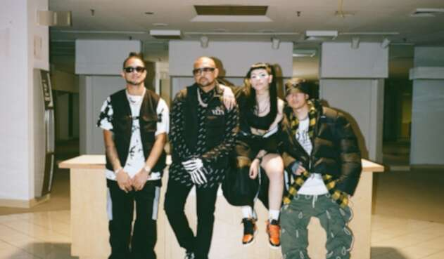Tainy, Sean Paul, Cazzu y Mozart La Para