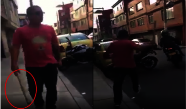Taxista amenza a conductor de Picap