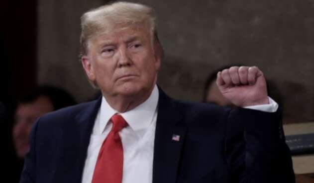 Donald Trump, absuelto del juicio político