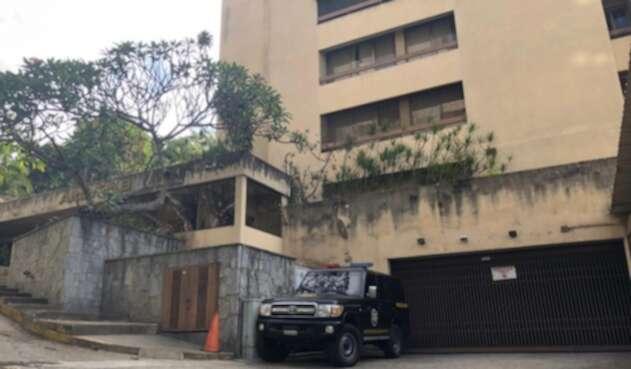 Vivienda del tío de Guaidó fue rodeada por patrullas