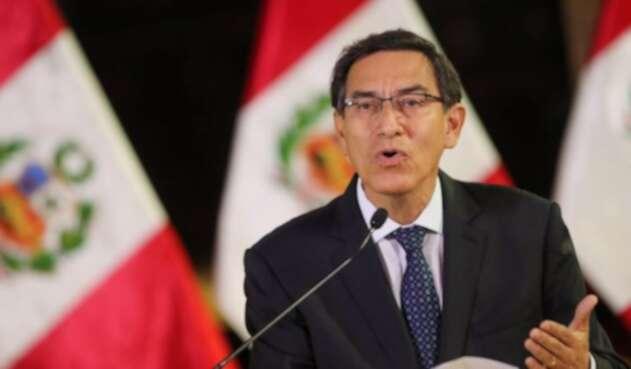 Martín Vizcarra, presidente del Perú