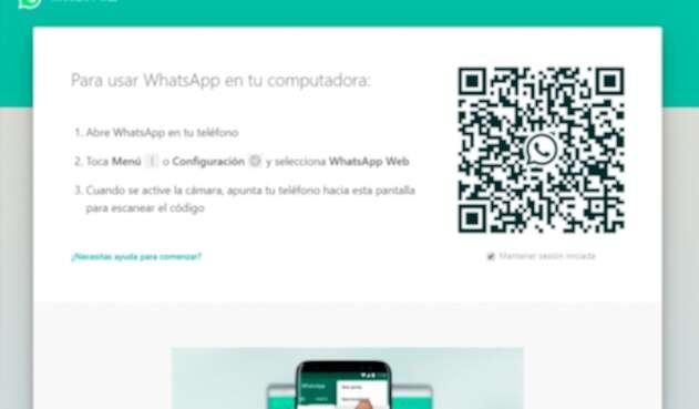 WhatsApp Web permite chatear desde un pc